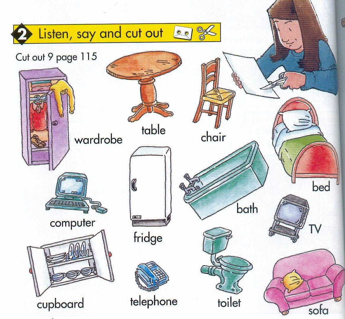Fun Learning # Muebles Definicion En Ingles