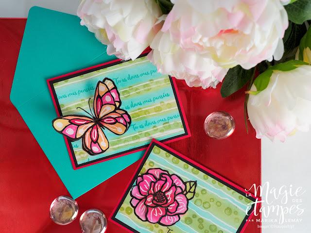 Carte Stampin'Up! confectionnée avec le jeu d'étampes Journée splendide