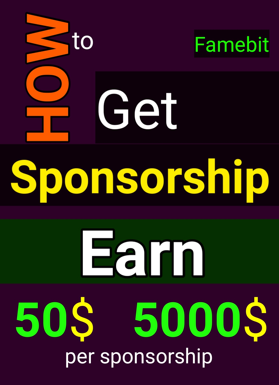 How to get Sponsorship for your online Business | YT Experts - YT