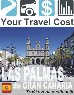 Las Palmas de Grand Canaria – Trošak