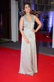 Telugu Actress Raashi Khanna Stills at Mirchi Music Awards South 2018 (3)