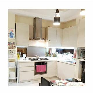 dapur minimalis interior