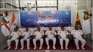 SLINEX-2018: India and Sri Lanka conducts joint naval exercise