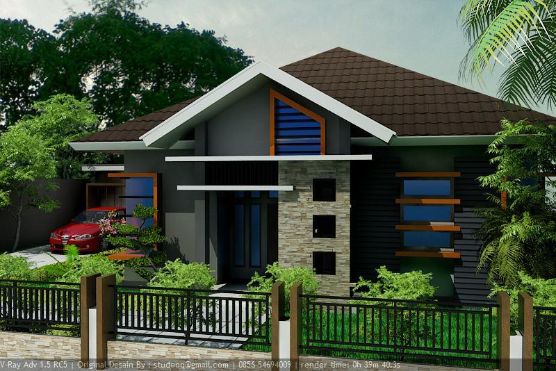 Model Rumah Minimalis Atap Limas Modern Dan Terbaru Perumahan