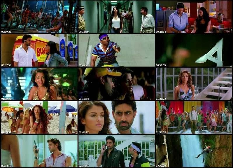 Free Movies: Dhoom 2 (2006) Hindi Movie BRRip 720p Download