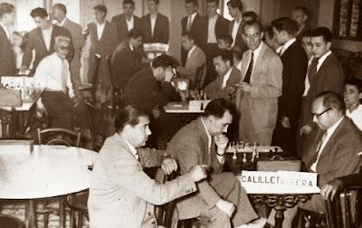 Novena ronda del Torneo de Ajedrez de La Pobla de Lillet 1957