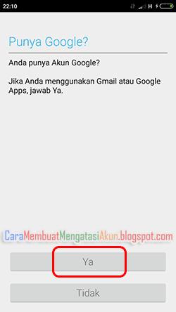 cara masuk akun google di android xiaomi
