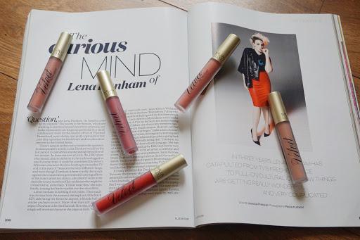 MUA Luxe Velvet lip lacquer lip swatches