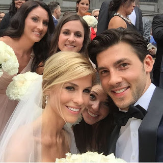 Kris Letang's Wife Catherine LaFlamme wedding moments