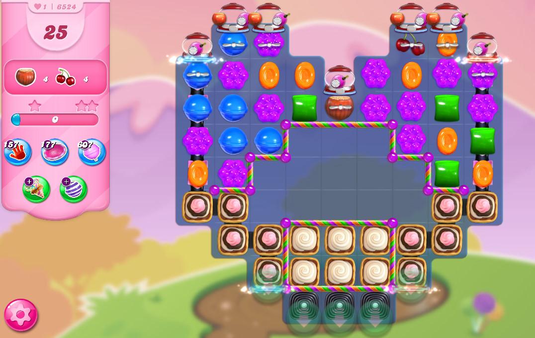 Candy Crush Saga level 6524