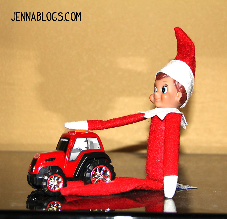 Jenna Blogs 35 Elf On The Shelf Ideas For Toddlers And A