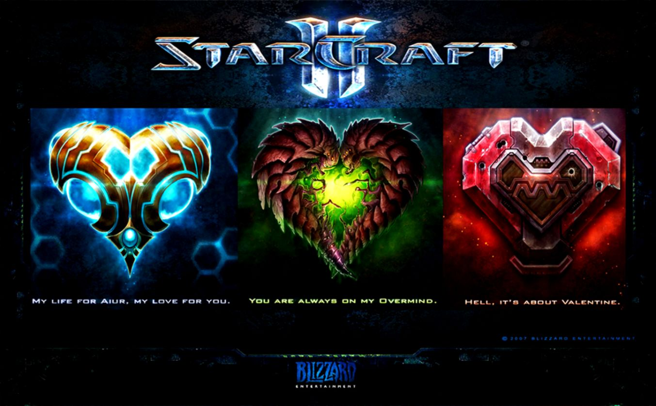 Battle in StarCraft II Legacy of the Void wallpaper Game
