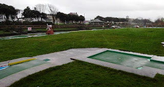 Crazy Golf at King's Gardens in Southport