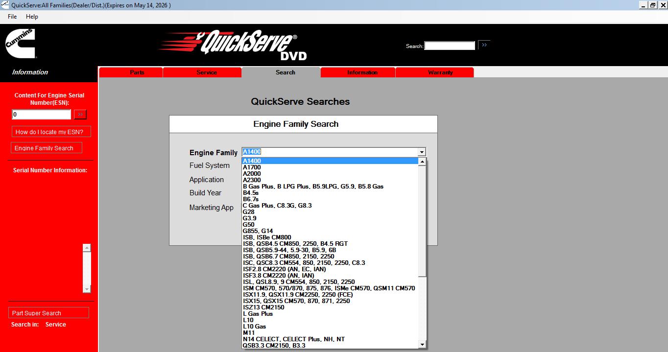 Cummins QuickServe DVD All Families Engines AutoPartsCatalogue – K38 Cummins Wiring Diagrams