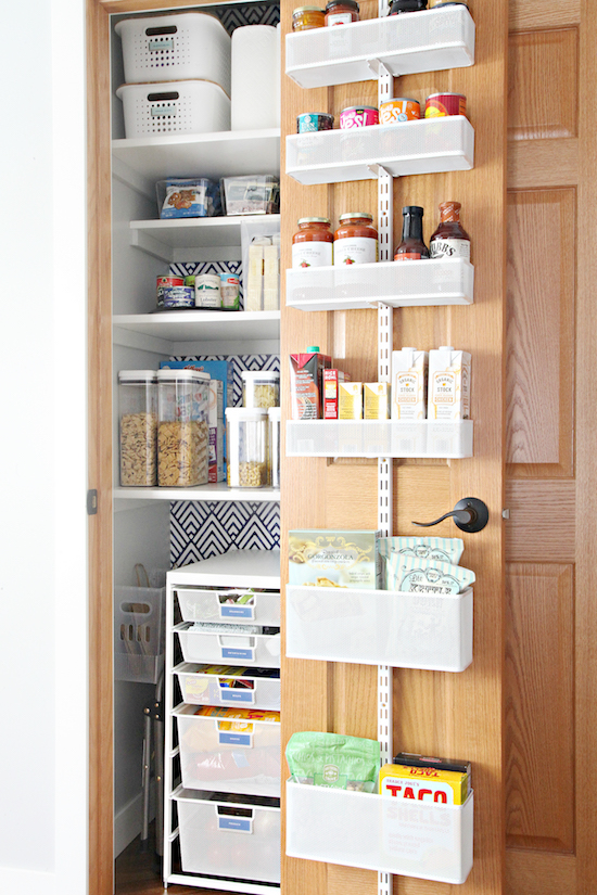 Iheart Organizing My Favorite Tips For Organizing A Deep Pantry