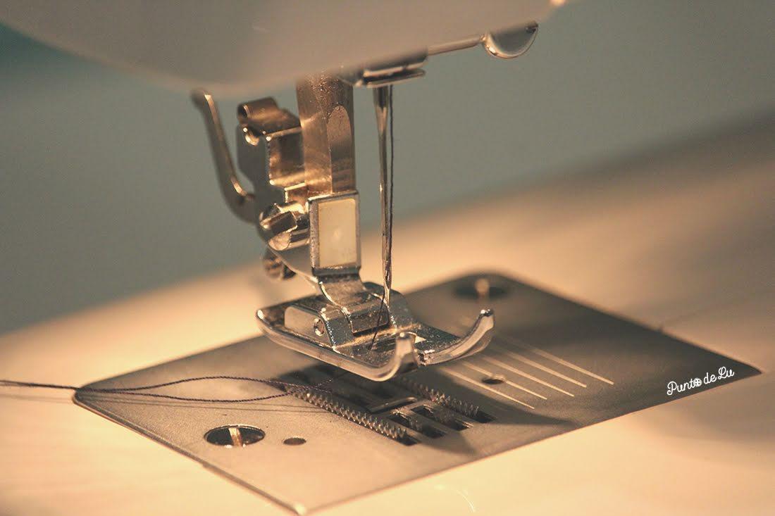 Máquina de coser, partes y funciones principales - Prensatelas