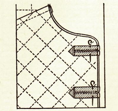 размещение завязок на жилете