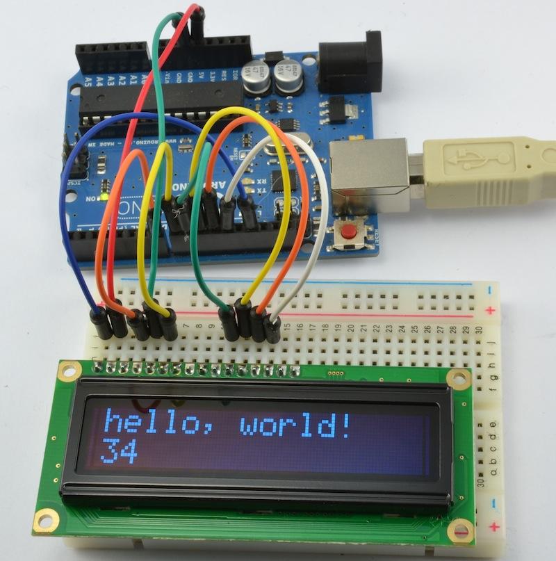 Dr  Monk's DIY Electronics Blog: Review: Adafruit 16x2 OLED