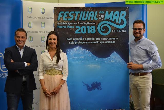 El III Festival del Mar incidirá en la concienciación sobre el cuidado de los océanos y los recursos marinos de la isla