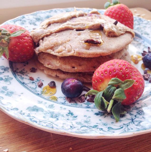 Vegan-Blueberry-Pancakes