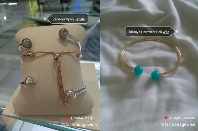 Pandora Open Bangle Cheap Dupe To Tiffany's Ball Wire Bracelet