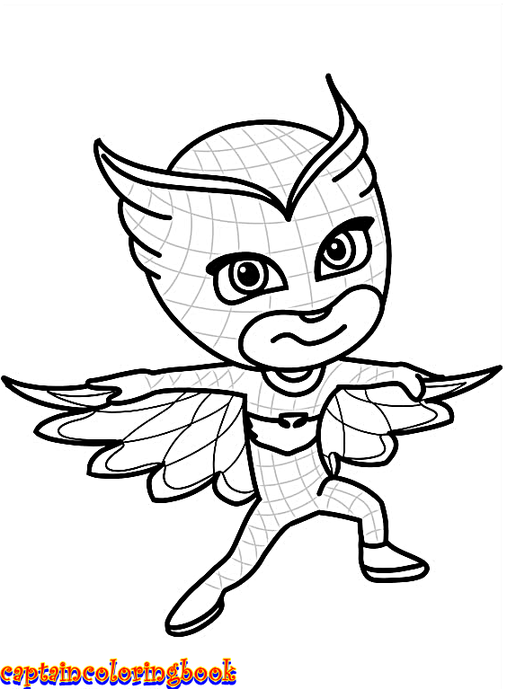 Disney PJ Masks coloring pages free Download - Coloring Page