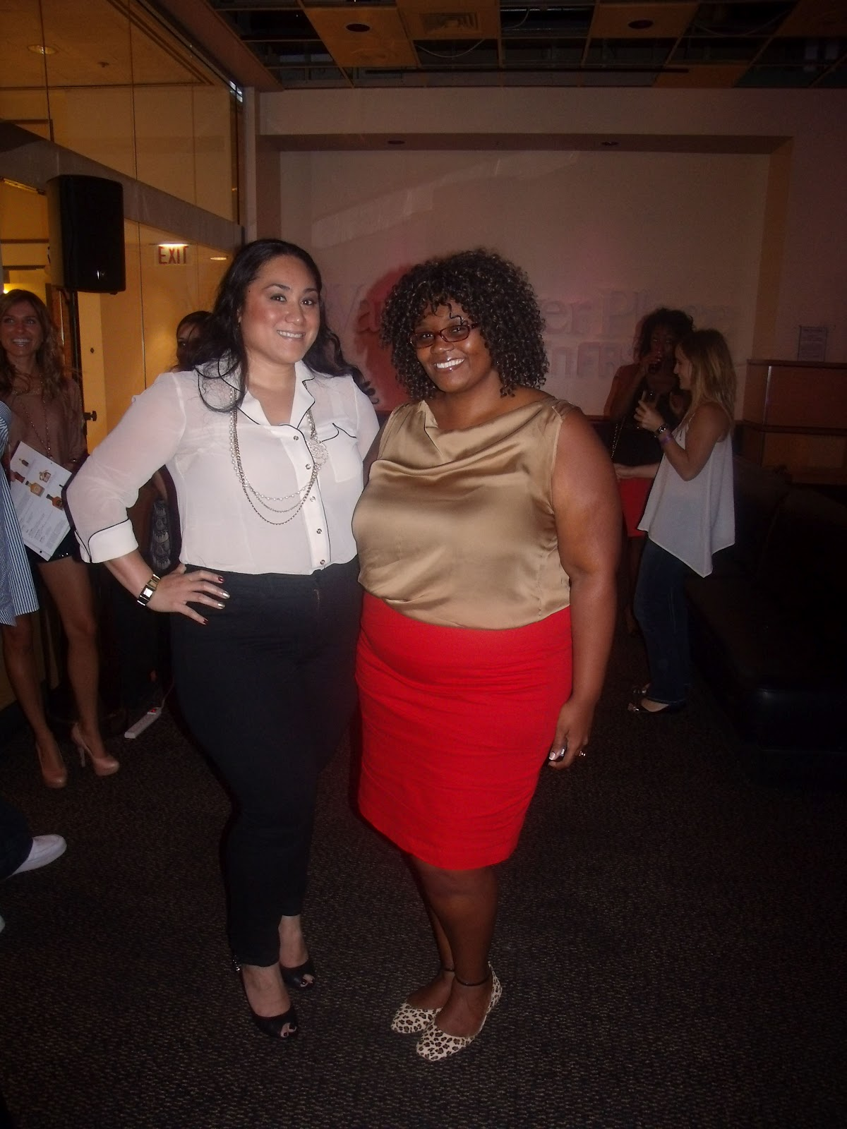 ca120f98211 OOTD  Red Denim Bandage Skirt • Curvatude