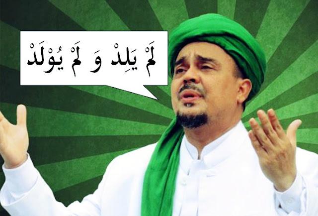Habib Rizieq Bilang 'Kalau Tuhan Beranak, Bidannya Siapa?' Sekumpulan Mahasiswa Ini Marah Mendengarnya