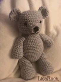 Free crochet pattern for a cute teddy bear free crochet patterns crochet teddy bear crochet teddy bear pattern crochet toy toy teddy dt1010fo