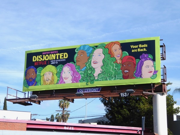 Disjointed season 1 part 2 billboard