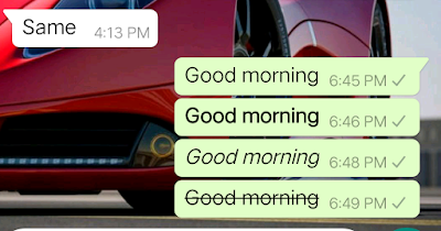 Change Font Styles On Your Whatsapp Application