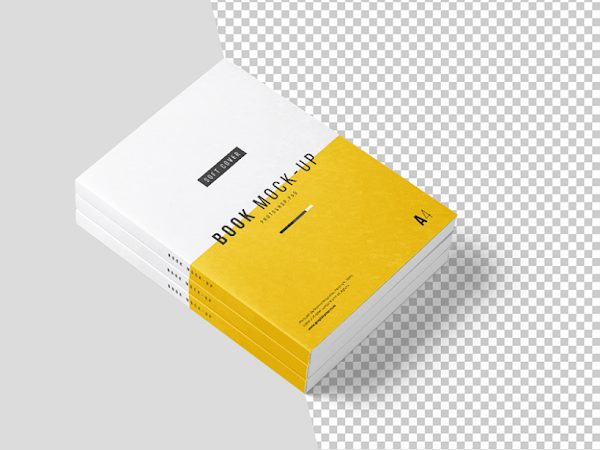 Download Photoshop A4 Book Mockup - FREE PSD