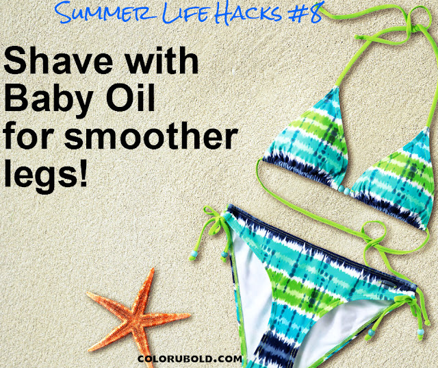10 Summer Beauty Hacks Worth Trying Out Color U Bold