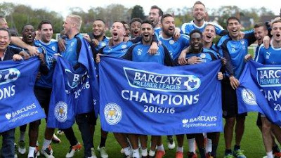 Leicester City 2015/2016 Champions