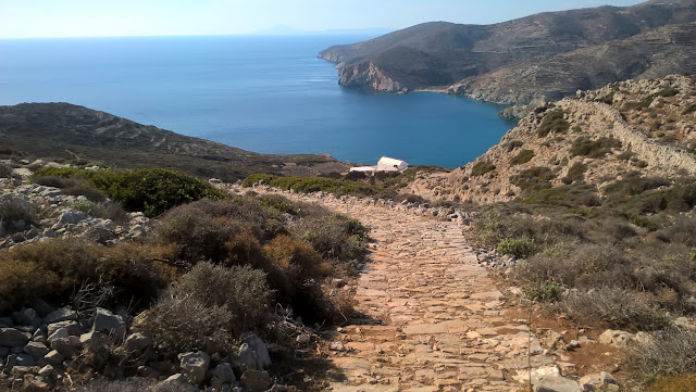 Folegandros' Pathways