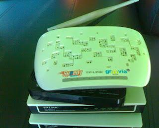 Mengatasi modem speedy tersambar petir