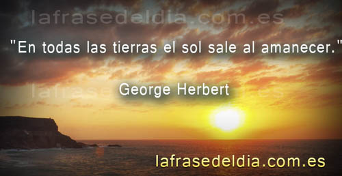 Frases motivadoras George Herbert