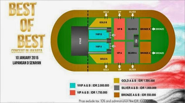 Ini Dia Harga Tiket Konser SNSD, SHINee, dan Bangtan Boys di Jakarta 2015!