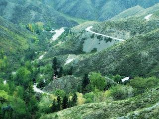 Caracoles de Villavicencio - Estrada das 365 Curvas (Mendoza)