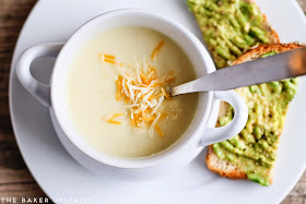 Creamy, smooth, and delicious cheesy cauliflower soup. So delicious and so easy to make!