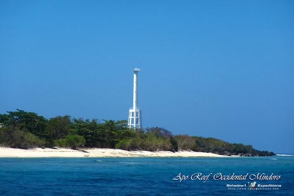 Lighthouse Apo Island, Apo Reef - Schadow1 Expeditions