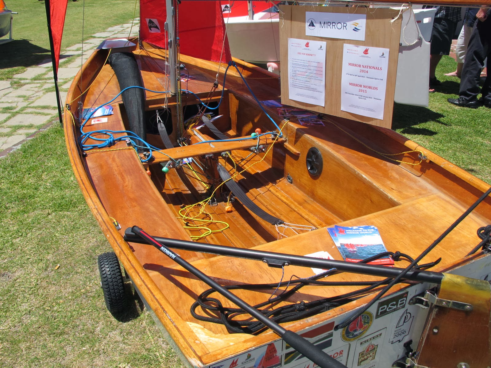 CKD Boats - Roy Mc Bride: Mirror Dinghy kit supplier in Southern Africa