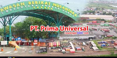Lowongan Kerja PT. Prima Universal KBN Cakung