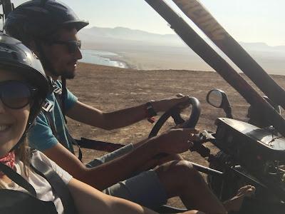 paseo en buggie por la reserva de paracas