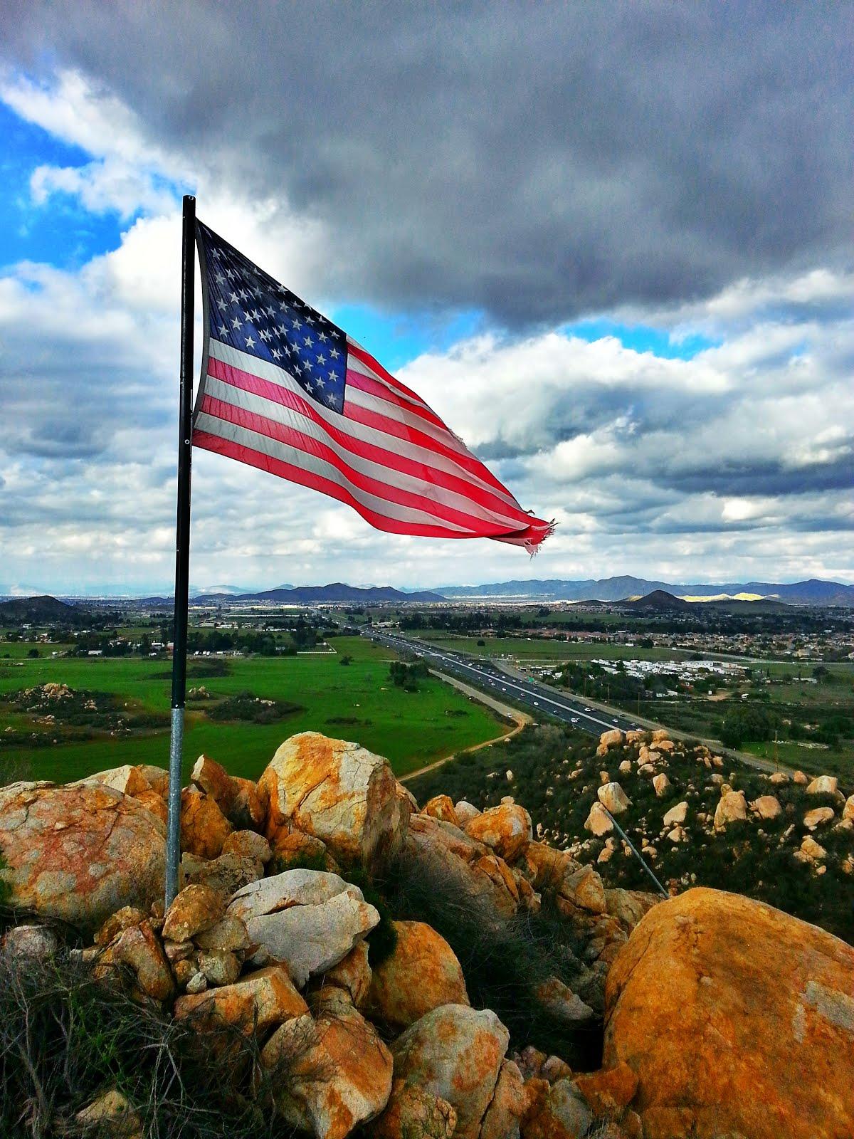 stater i usa flag