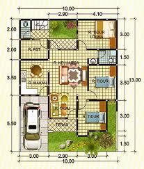 Denah Rumah Minimalis Bagi Keluarga