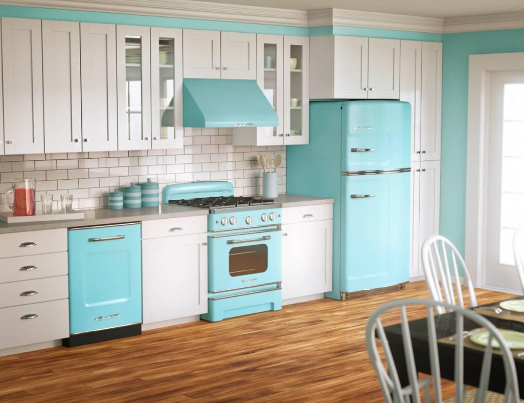 deco chambre interieur cuisines color es de style vintage. Black Bedroom Furniture Sets. Home Design Ideas