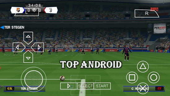 PES 2020 PPSSPP Android Offline 400MB