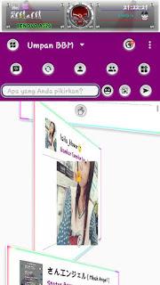 BBM Mod Grape Rainbow v3.1.0.13 Apk Terbaru
