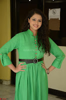 Geethanjali in Green Dress at Mixture Potlam Movie Pressmeet March 2017 081.JPG